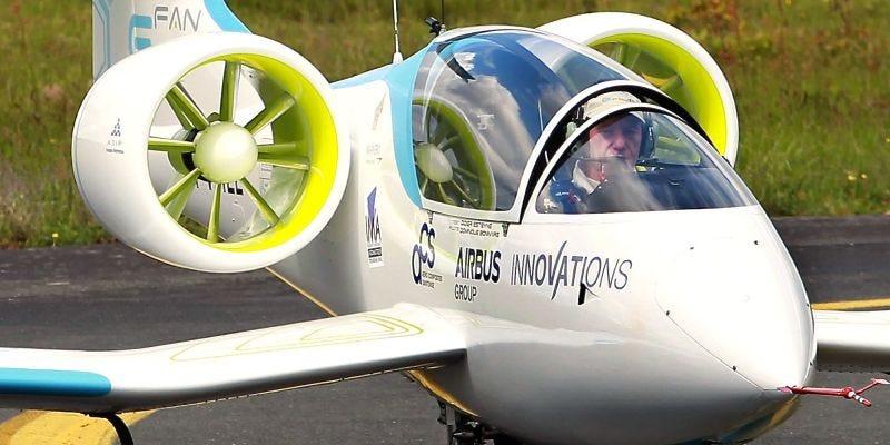 Airbus E-Fan; Associated Press via Chris Clarke/Flight Club