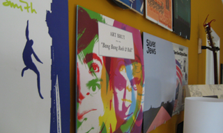 Illustration for article titled How To Build an Album Art Wall on the Cheap
