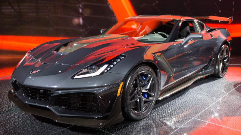 The First 2019 Corvette Zr1 Just Sold For 925 000