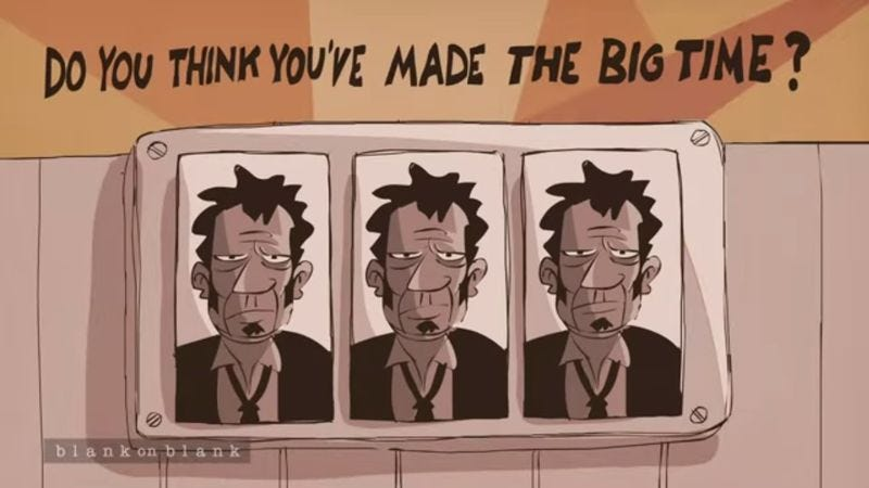 Illustration for article titled Tom Waits talks Stonehenge, New York, shirts in animated interview