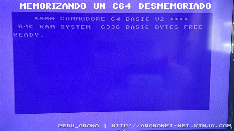 Illustration for article titled Memorizando un c64 desmemoriado