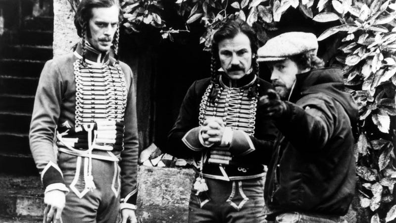 Ridley Scott (right) on the set of The Duellists. (Photo: Sunset Boulevard/Corbis via Getty Images)