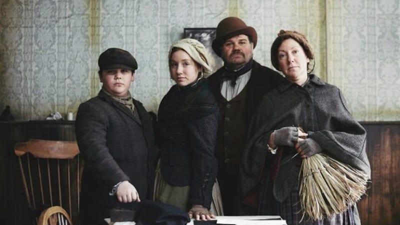 Image via The Victorian Slum/BBC2.