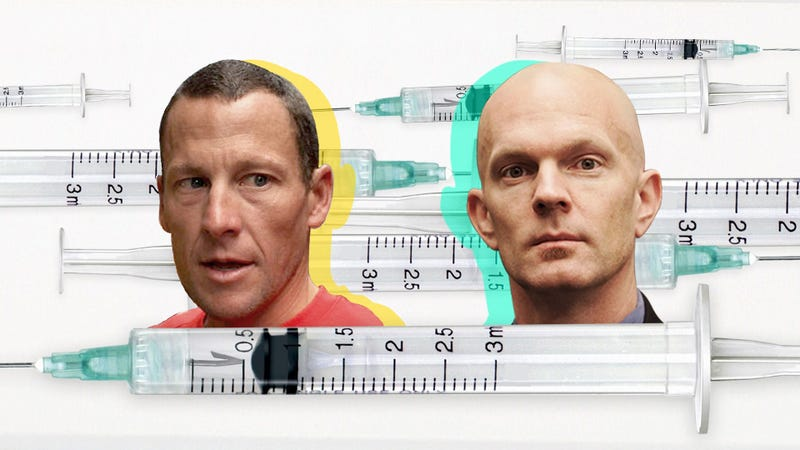 """Illustration for article titled The Case Against """"The Case Against Lance Armstrong"""""""