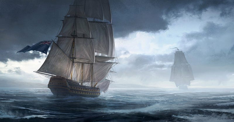 Illustration for article titled The Glorious Age Of Sail