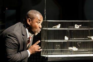 Tenor Lawrence Brownlee as Charlie Parker in the world premiere ofthe opera Charlie Parker's YardbirdDominic M. Mercier