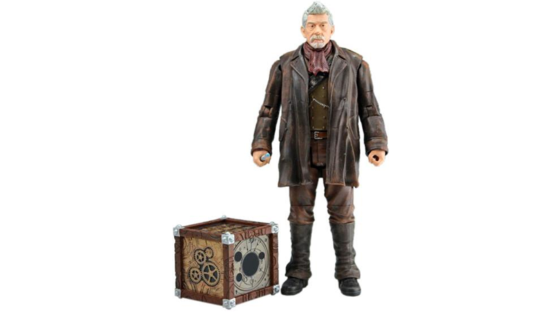 Illustration for article titled Now John Hurt is a 'real' Doctor - He's getting his own action figure!