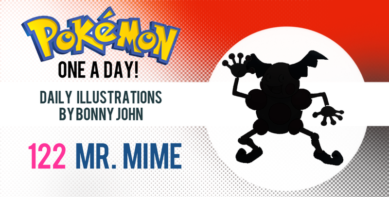 Illustration for article titled Mr. Mime in Halloweentown?!  Pokemon One a Day!