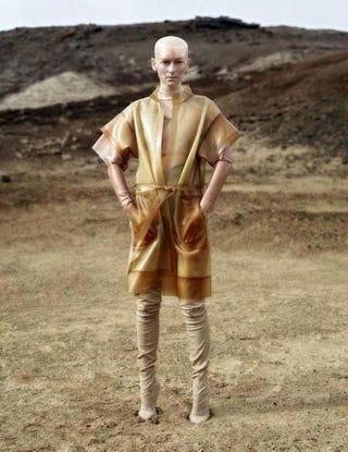 Illustration for article titled Tilda Swinton dons Airbender cosplay