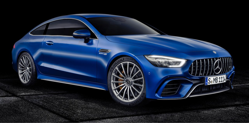 Illustration for article titled Just for kicks, I made a 2 door version of the 4 door version of the AMG-GT