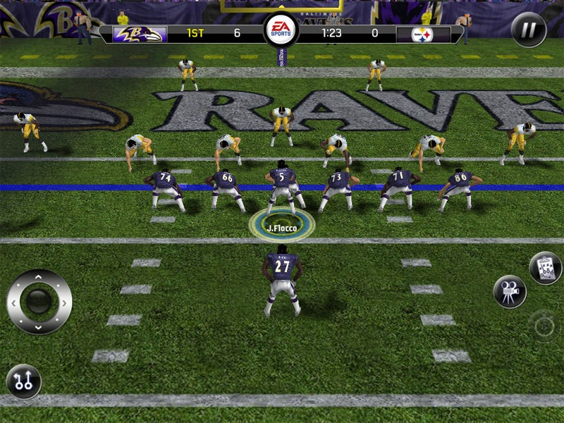 Illustration for article titled Madden 11 For iPad: The Cool Touch Football