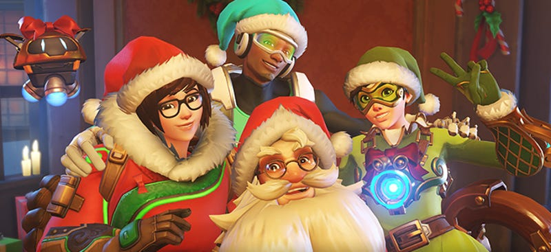 Illustration for article titled Overwatch's Holiday Event Has Begun