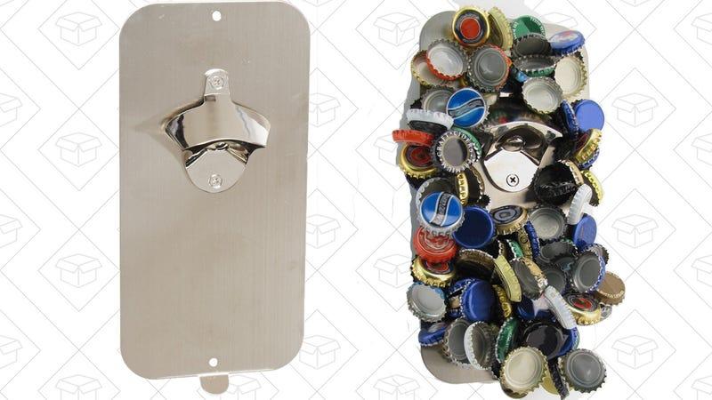Magnetic Bottle Opener, $17