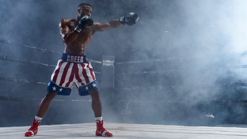 Michael B. Jordan as Adonis Creed in Creed II