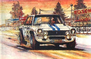 Illustration for article titled When Argentina ruled the Nürburgring