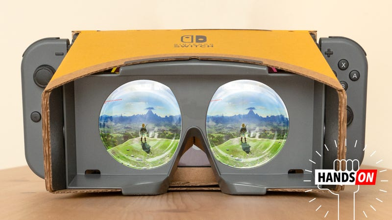Illustration of the article titled Nintendo VR Upgrade for Zelda Messed Me Up