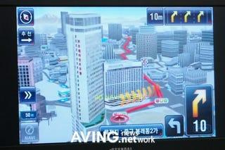 Illustration for article titled Thinkware iNAVI GPS Navigation Goes 3D, Really 3D