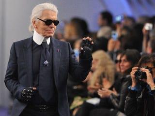 Karl Lagerfeld (Antonio de Moraes Barros Filho/Getty Images)