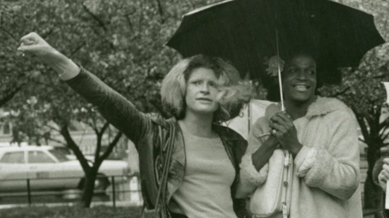 Sylvia Rivera and Marsha P. Johnson, Photo courtesy of: Diana Davies