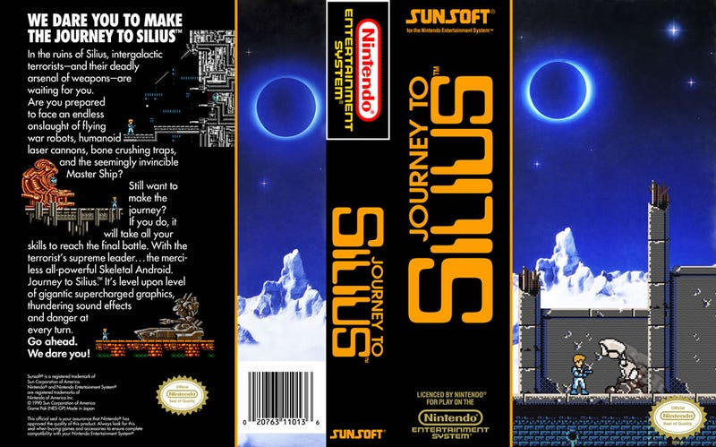 Illustration for article titled Journey to Silius Features Some of the Best Music on the NES