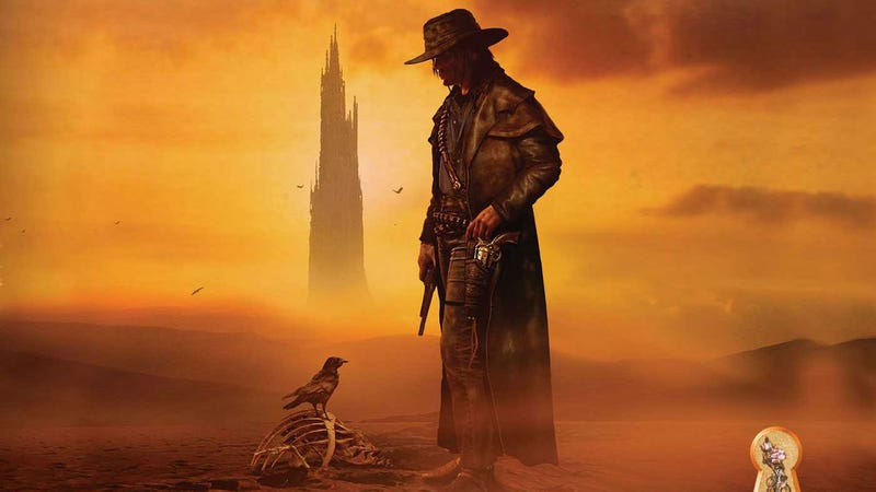 Part of the cover of The Gunslinger by Stephen King.
