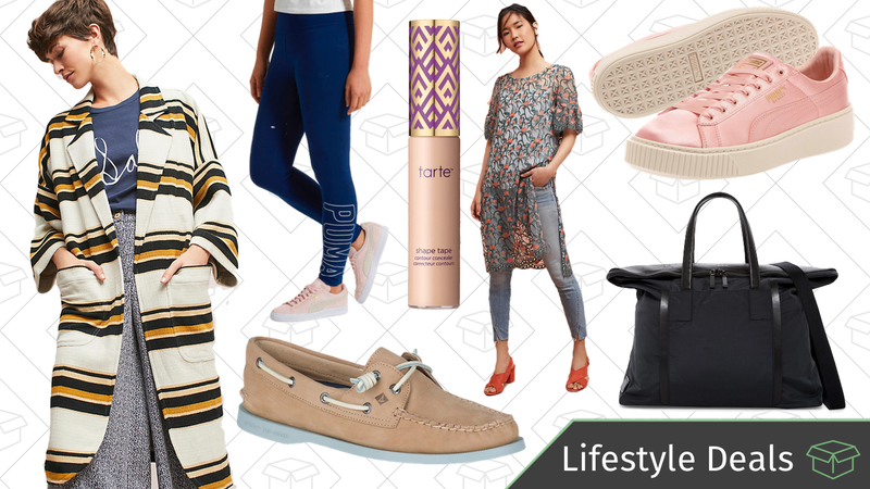 Illustration for article titled Today's Best Lifestyle Deals: Sperry, TUMI, Anthropologie, PUMA, and More