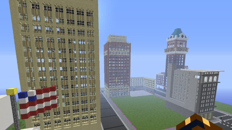 Illustration for article titled Minecraft Builders Re-Create MC Hammer's Hometown for Museum Exhibit