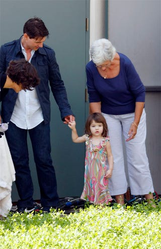 """Illustration for article titled """"Best Dressed"""" Suri Cruise: Pucci, Pucci, Poo!"""
