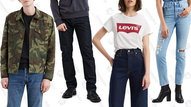 5c2a76d3 What's better than a pair of classic Levi's jeans? Two pairs! And getting  one of those pairs for 50% off is obviously best; that's exactly what you  can do ...