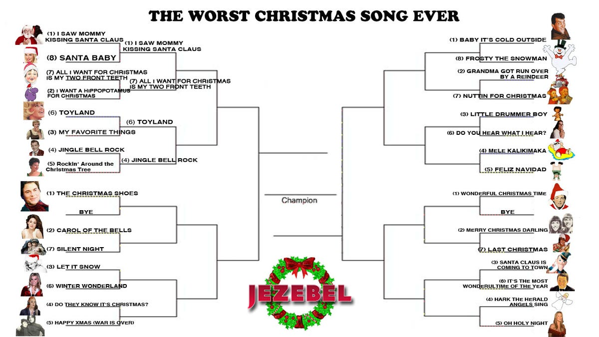 December Madness: The Tournament To Crown The Worst Christmas Song ...