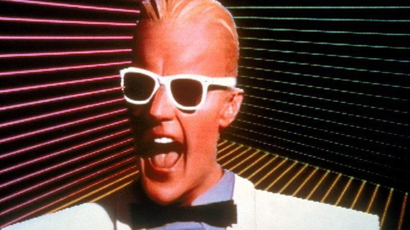 Illustration for article titled Nearly 30 years ago, Max Headroom took viewers 20 minutes into the future