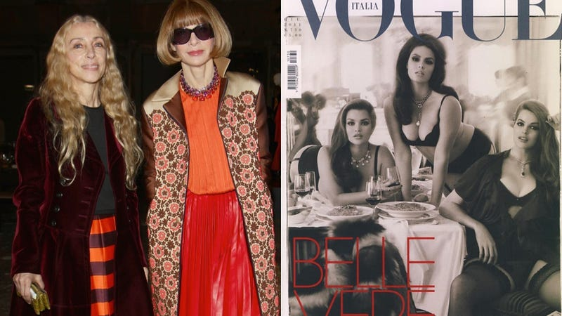 Illustration for article titled Vogue Italia Editor Admits Fashion is 'One Of The Causes' of Anorexia