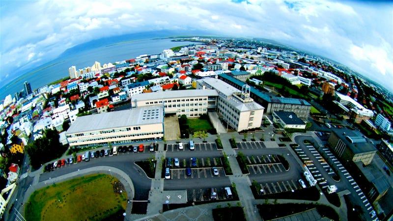 Downtown Reykjavík (Photo by Ville Miettinen)