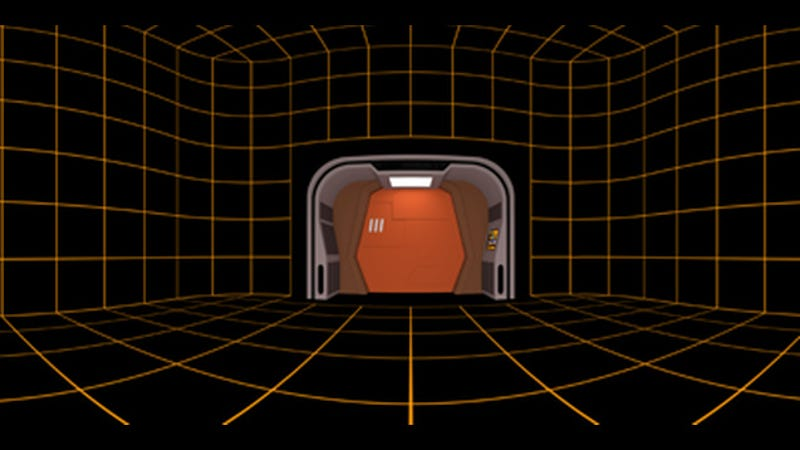 Illustration for article titled Of Course Somebody Recreated The Holodeck In Steam VR