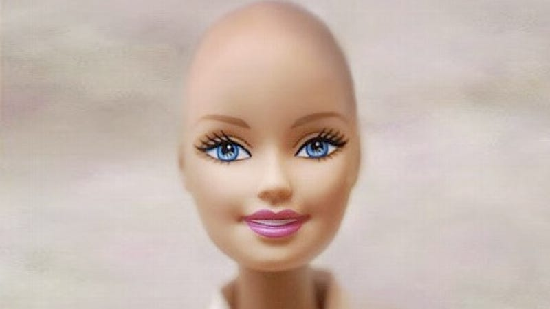 Illustration for article titled Barbie's Friend Will Soon Be Bald and Beautiful