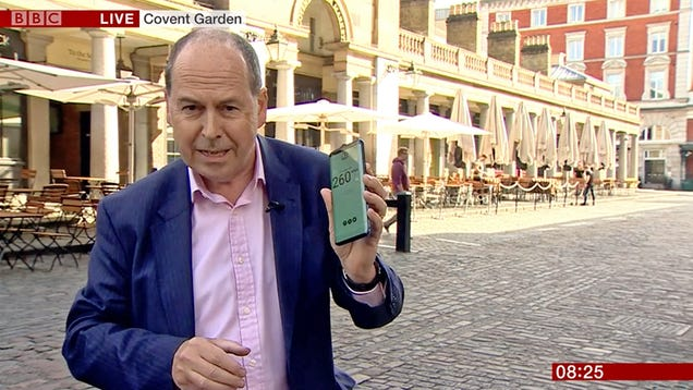 BBC Goes to Conduct Its First Broadcast Over 5G, Immediately Hits Data Cap
