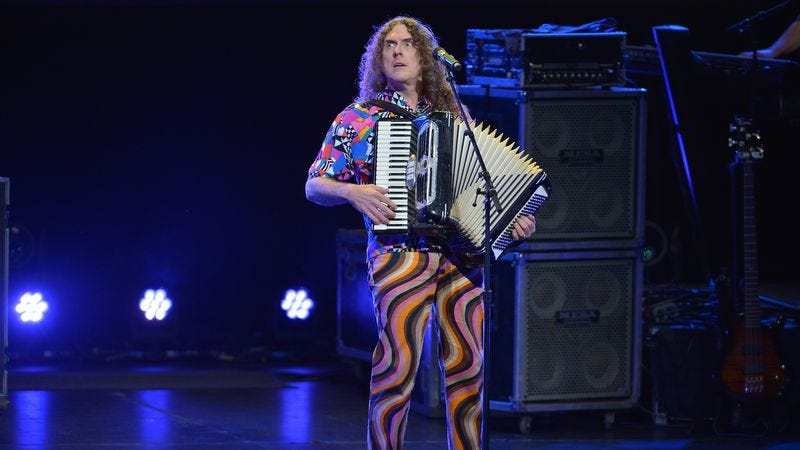 """Illustration for article titled A deluxe 15-album """"Weird Al"""" box set is coming next year"""