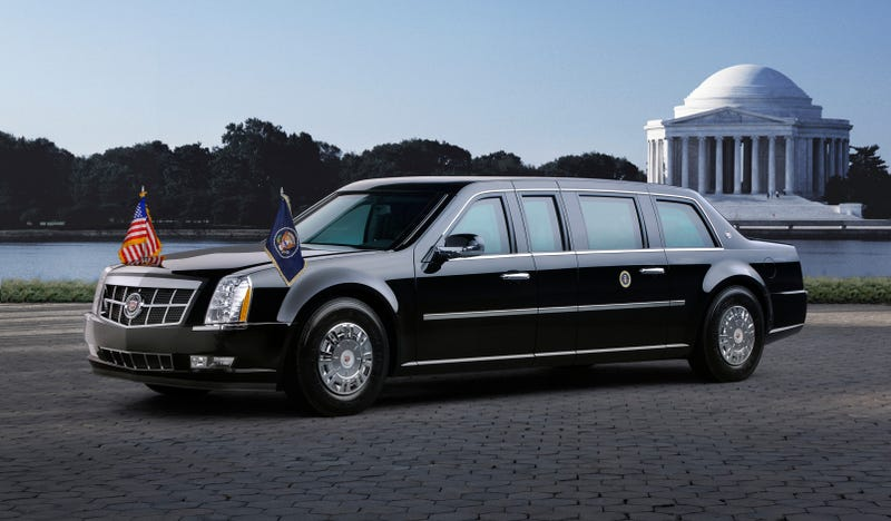 obama's new cadillac limo officially unveiled