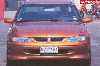 Left Hand Drive VT Holden Commodore S prototype (1 of 2 LHD supercharged vehicles built)