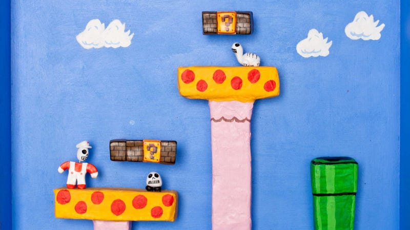 Illustration for article titled These Super Mario and Pac-Man Dioramas Capture the Fatal Charm of Classic Video Games