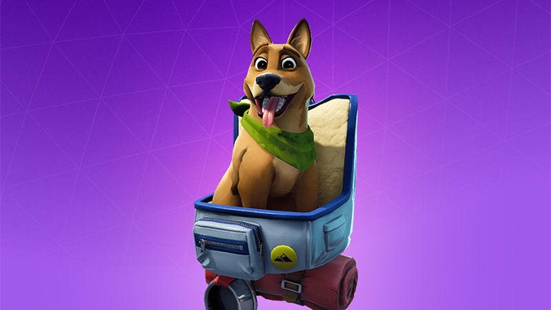 Illustration for article titled Fortnite's Dog Petting Sucks