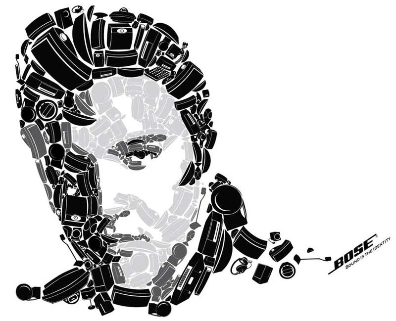 Illustration for article titled Elvis Spotted In Bose Ad, Probably Just An Impostor