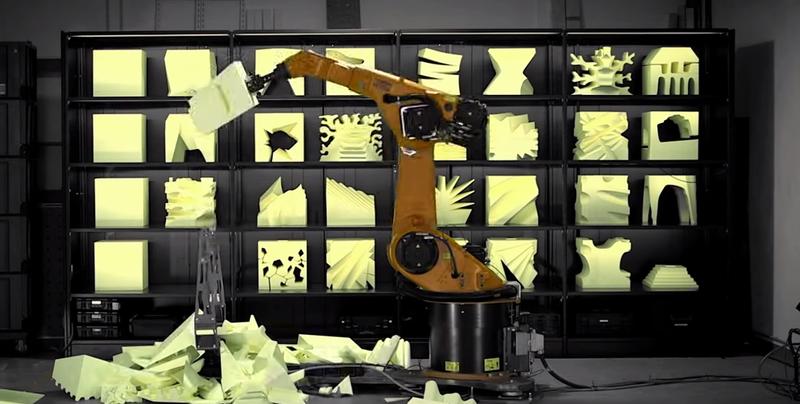 Illustration for article titled El futuro de los muebles: dejar que un robot los esculpa por ti