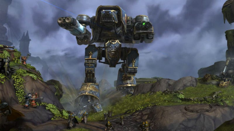 Illustration for article titled Warhammer 40K MMO: Man vs Wild