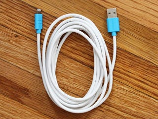 Illustration for article titled Get 52% Off The 10ft Apple-Certified MFi Lightning Cable – $18.99