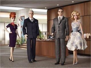 Illustration for article titled Reminder:  Mad Men Barbie Contest Ends On Sunday
