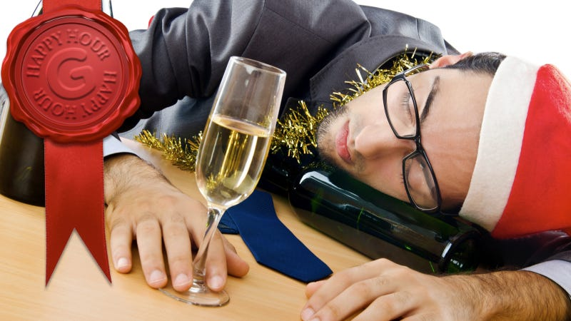 Illustration for article titled How To Increase Your Drinking Tolerance (So You Don't Make an Ass of Yourself at a Holiday Party)
