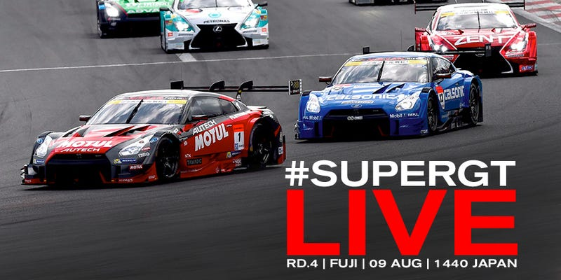 Illustration for article titled Can't Sleep? Watch Some Super GT Racing Live, Right Here, Right Now