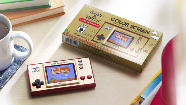 Get the Special Edition Super Mario Bros. Game & Watch for $47 and Get Real Retro With It