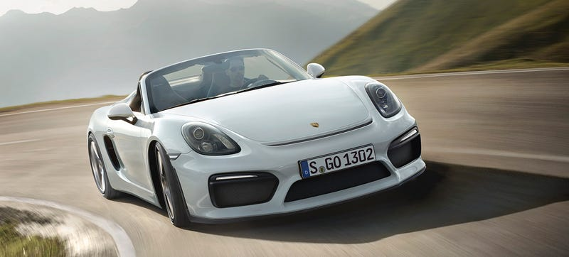Illustration for article titled 2016 Porsche Boxster Spyder: This Is It